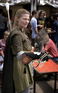 L'elfe et le faucon